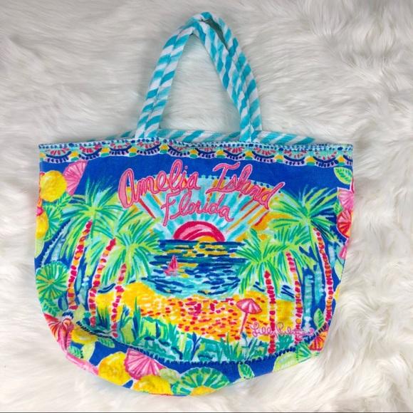 Lilly Pulitzer Handbags - Lilly Pulitzer Amelia Island Tote